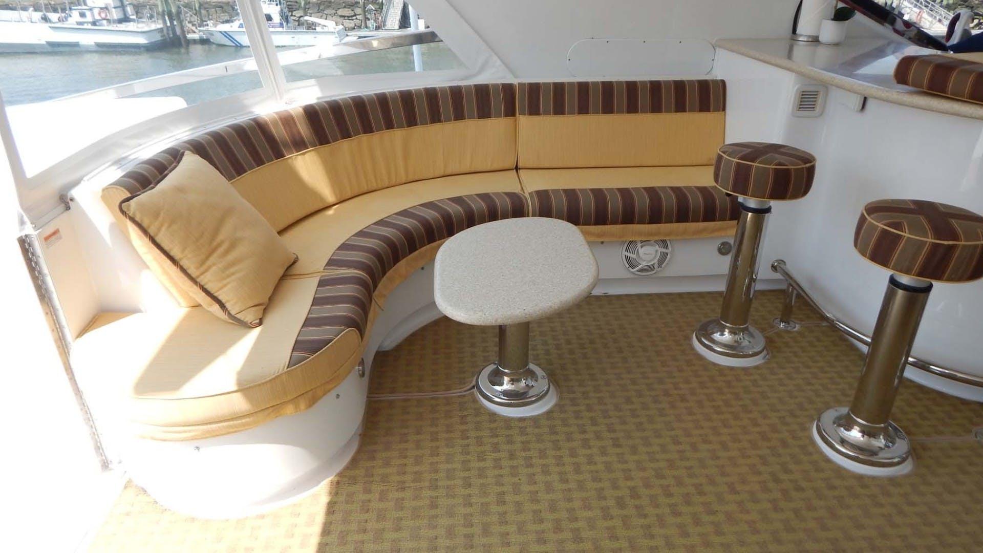 2007 Hatteras 80' 80 Motor Yacht Lady Carolina | Picture 3 of 45