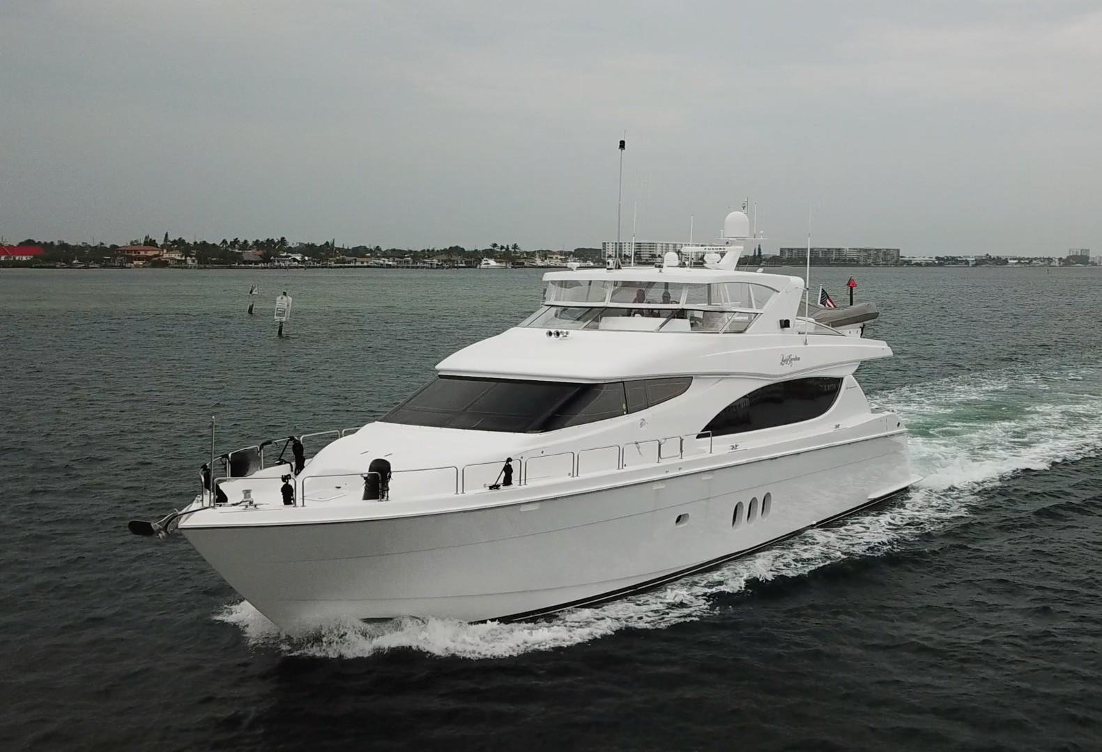"2007 Hatteras 80' 80 Motor Yacht ""Lady Carolina"""