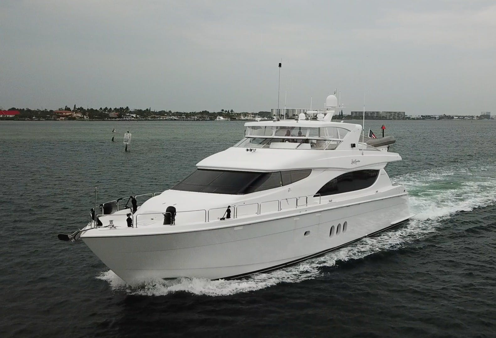2007 Hatteras 80' 80 Motor Yacht Lady Carolina | Picture 1 of 45