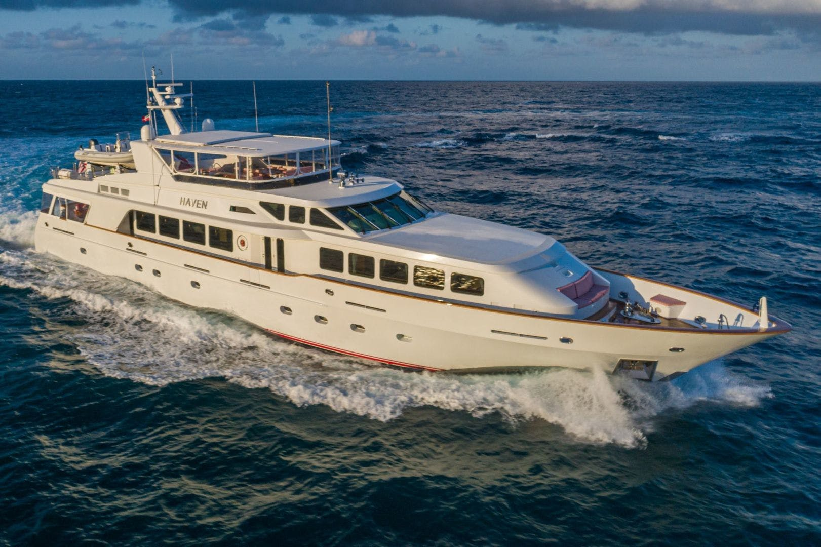 2002 Trinity Yachts 124' Raised Pilothouse HAVEN | Picture 1 of 46