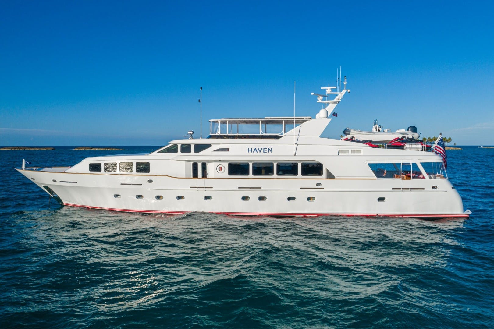 2002 Trinity Yachts 124' Raised Pilothouse HAVEN | Picture 4 of 46