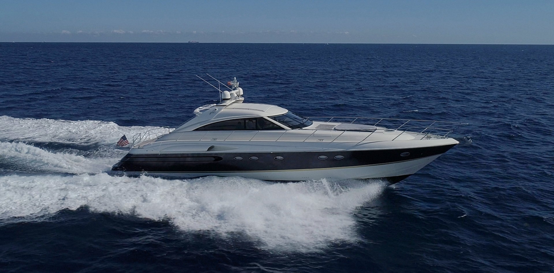 "2002 Princess 65' Viking Sport Cruisers V65 ""Small Change"""