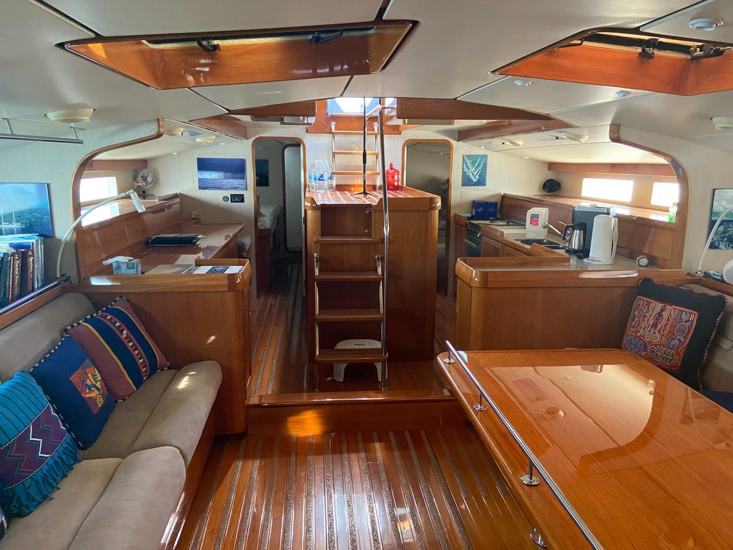 1998 Dashew 78' Kelly Archer BEOWULF | Picture 7 of 33