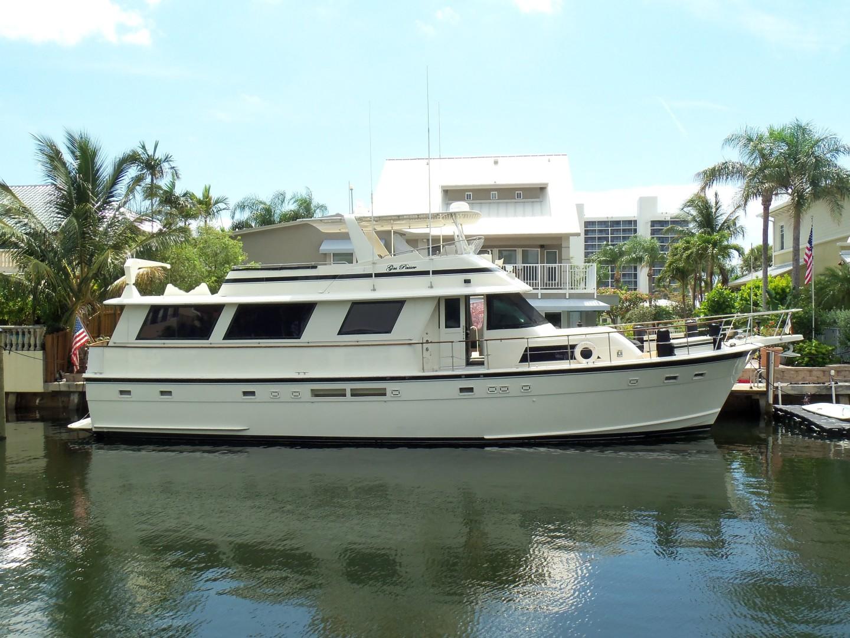 """1987 Hatteras 63' Flush Deck Flybridge Motor Yacht """"GAS PASSER"""""""