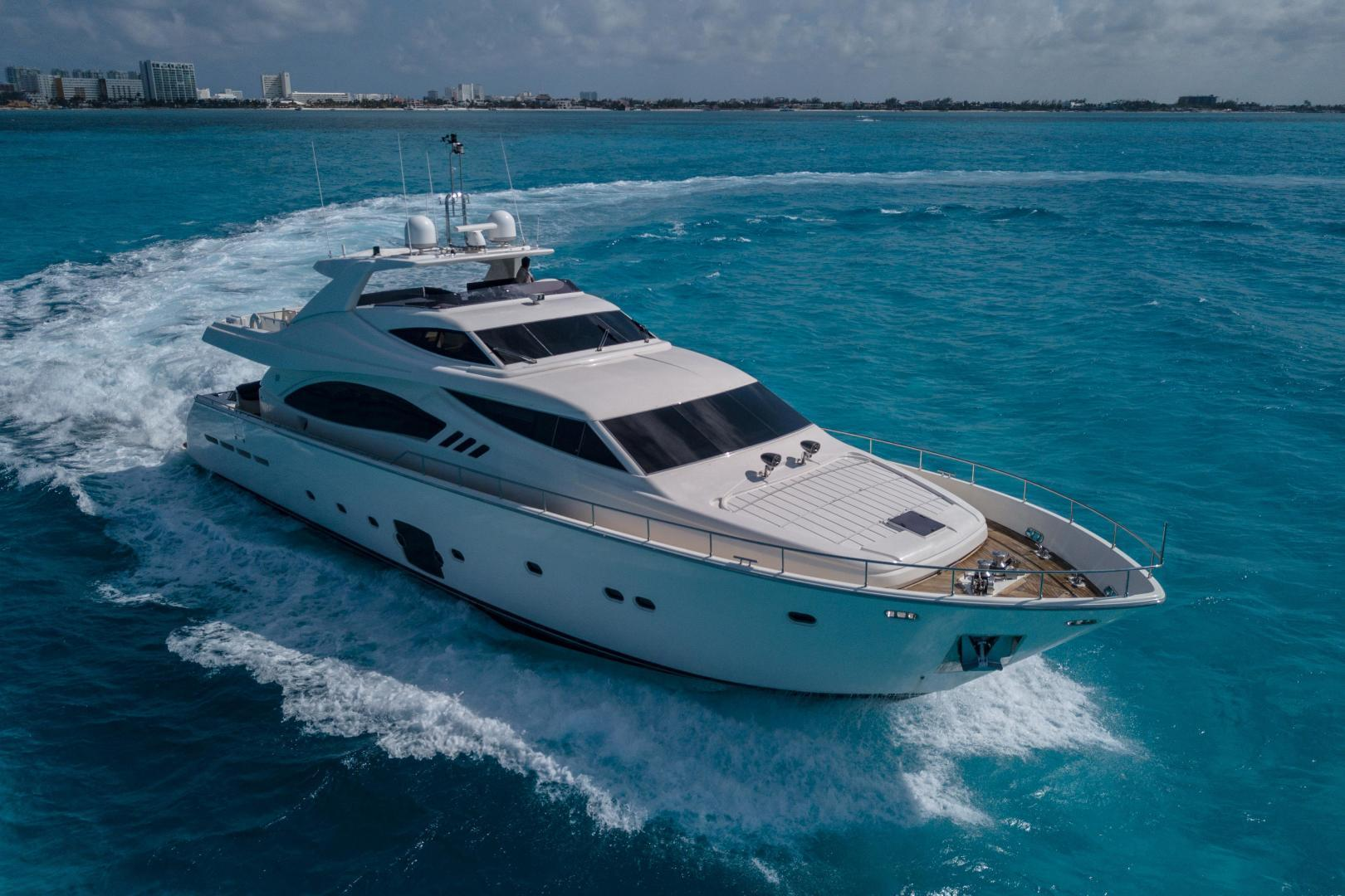 88' Ferretti Yachts 2008 881 Fortis II