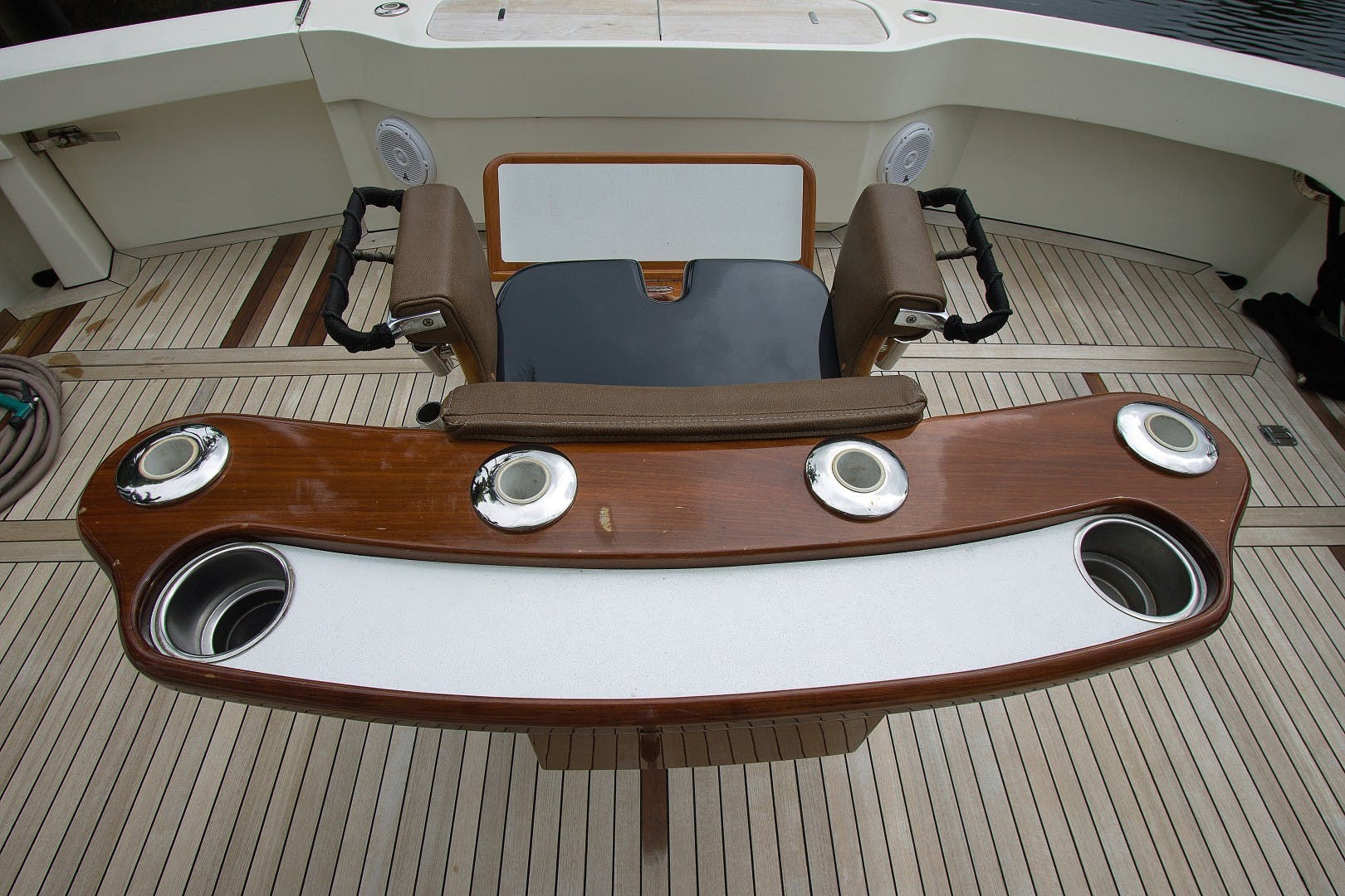 1989 Hatteras 65' Convertible Catch Me | Picture 6 of 39