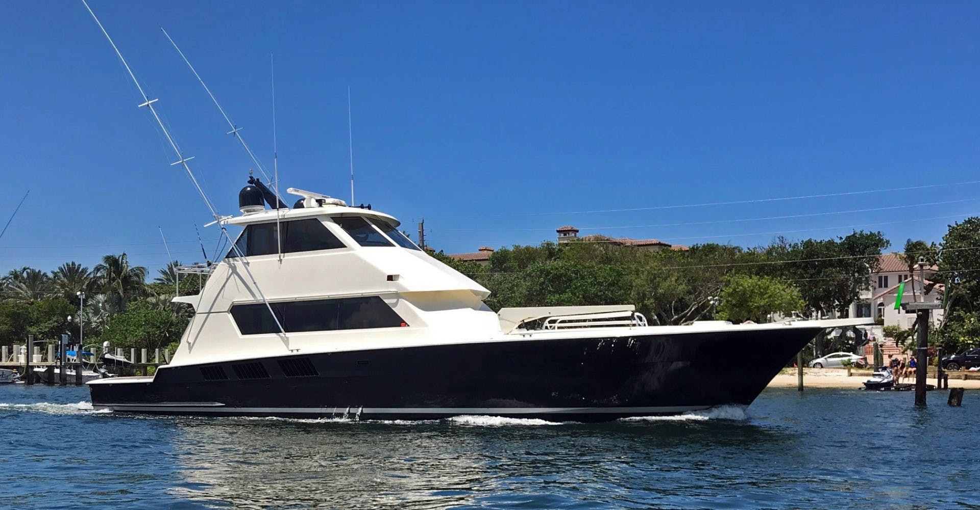 1989 Hatteras 65' Convertible Catch Me | Picture 1 of 39