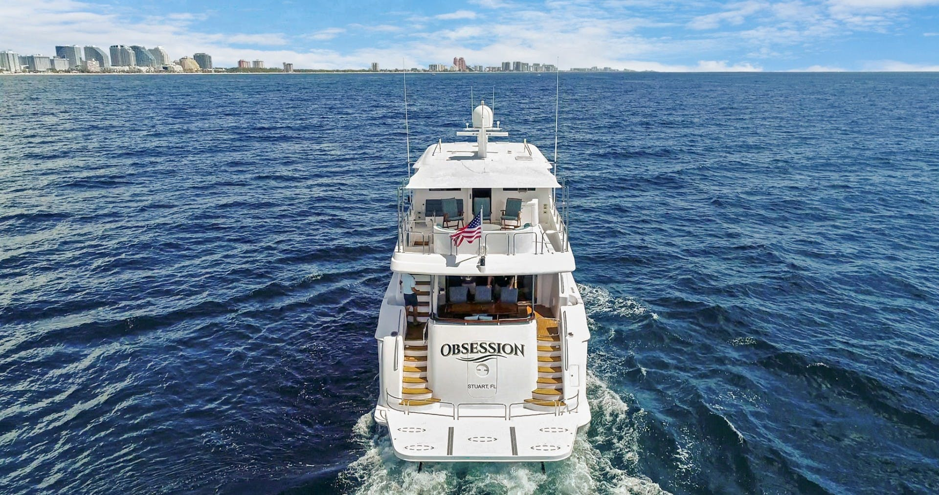 2012 Hatteras 80' Enclosed Bridge Motor Yacht OBSESSION   Picture 6 of 76