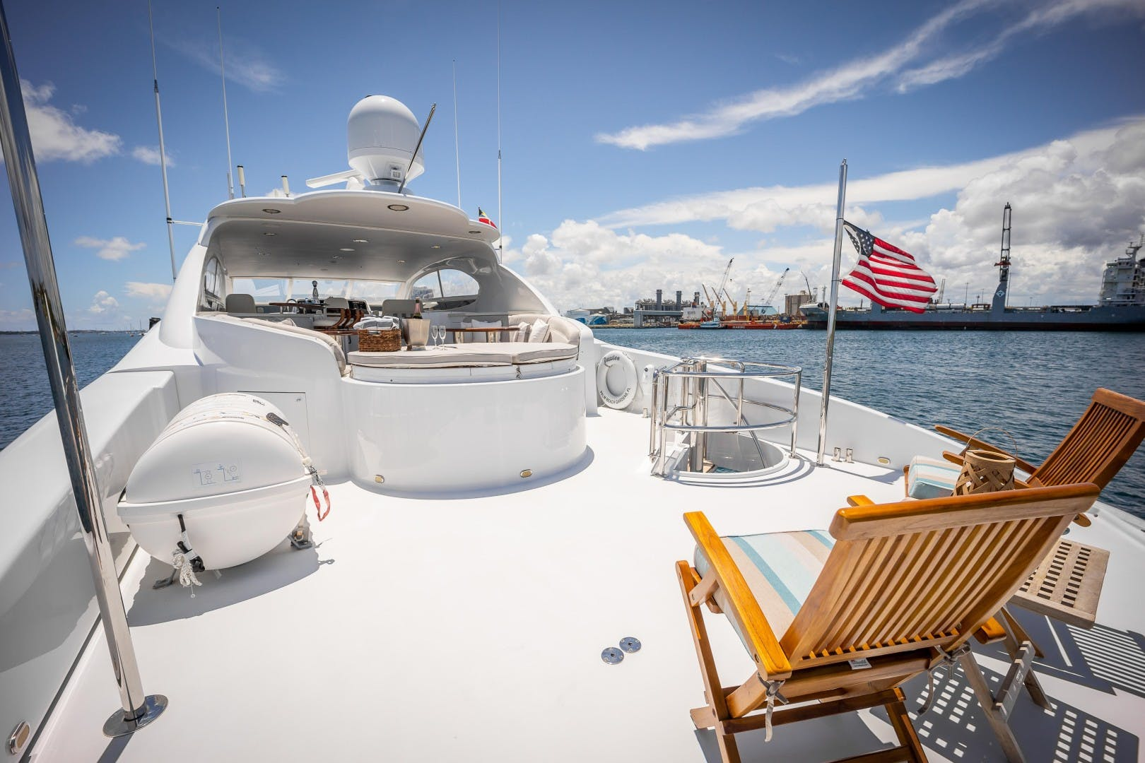 2004 Lazzara Yachts 106' Motor Yacht Passion | Picture 1 of 79