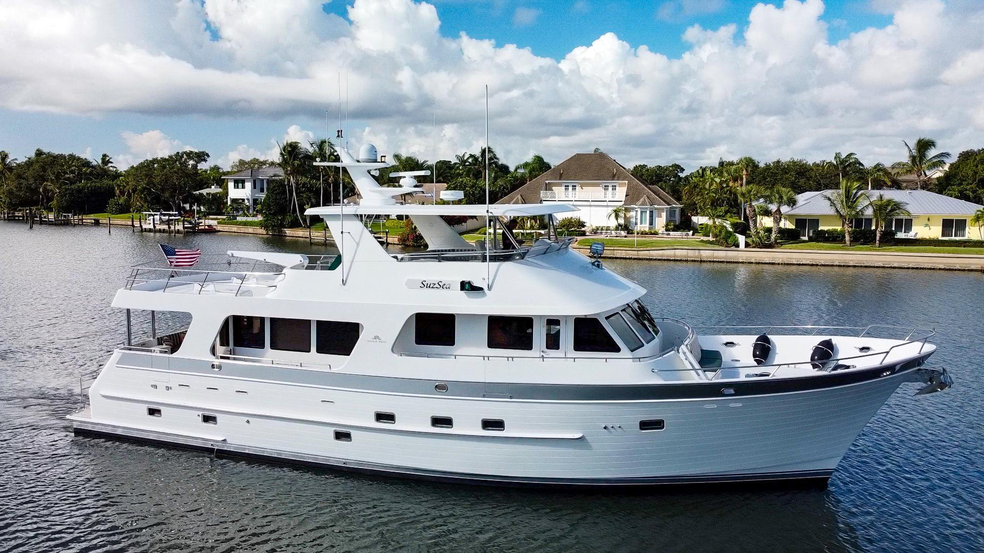 """2008 Outer Reef Yachts 73' 730 MY """"Suzsea"""""""