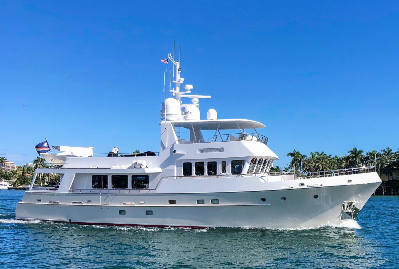 """2002 Kuipers Woudsend 84' Raised Pilothouse LRC """"GUSTO"""""""