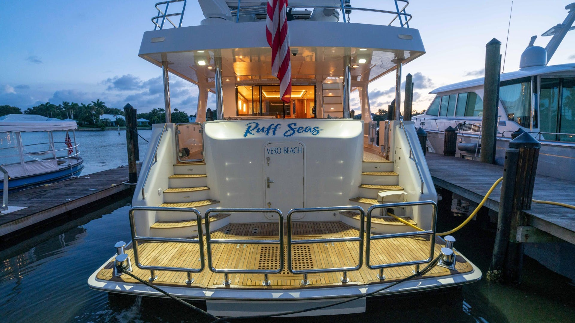 2018 Outer Reef Yachts 86' 860 DBMY- Sky Lounge Ruff Seas   Picture 5 of 89