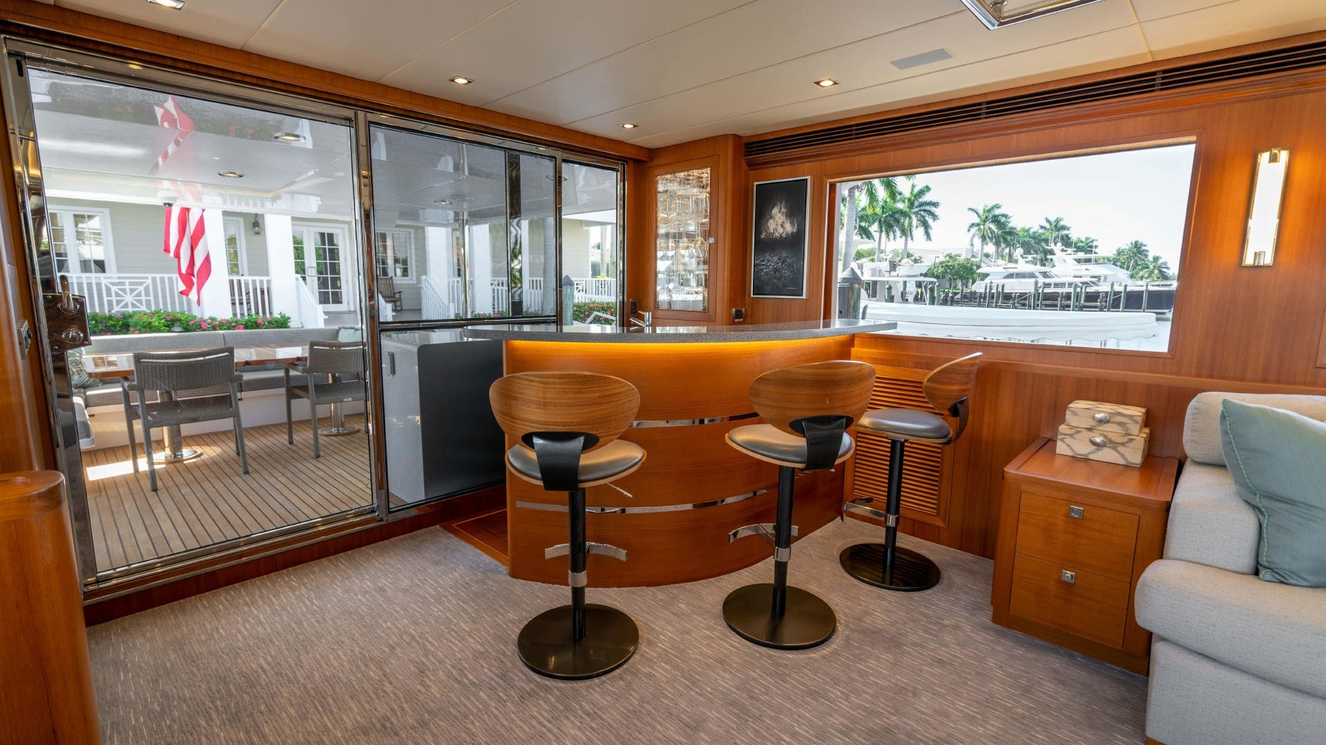 2018 Outer Reef Yachts 86' 860 DBMY- Sky Lounge Ruff Seas   Picture 1 of 89