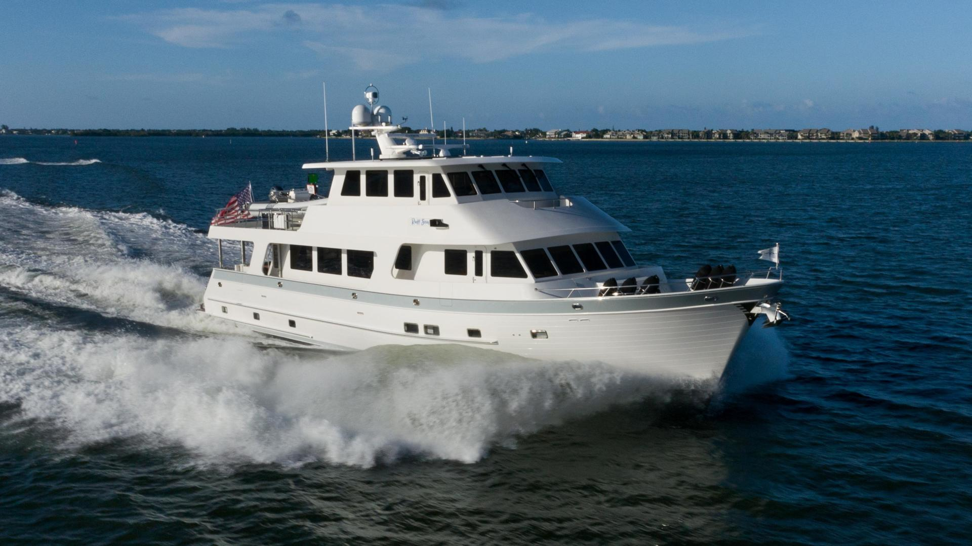 86' Outer Reef Yachts 2018 860 DBMY- Sky Lounge Ruff Seas