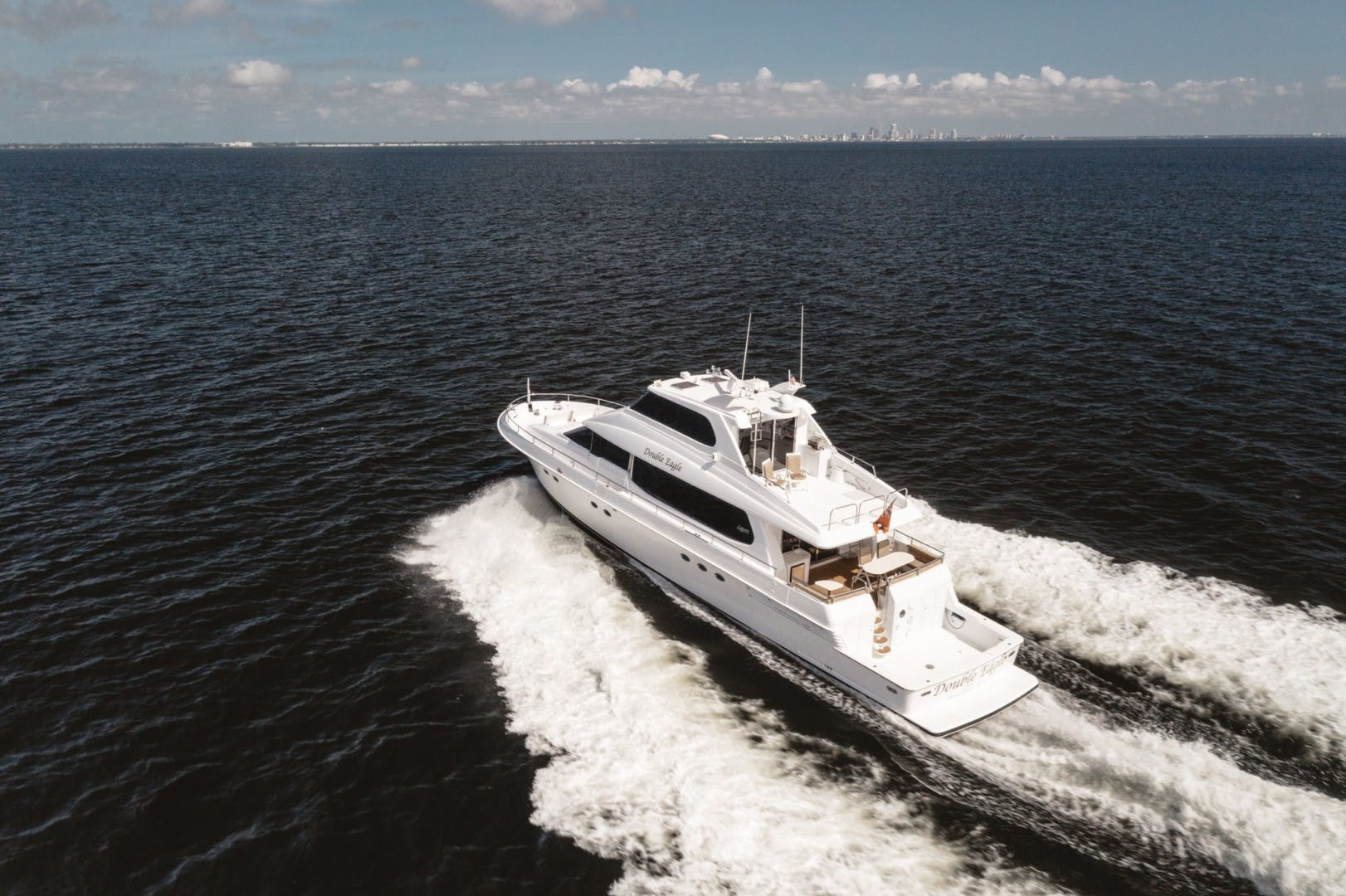 1996 Lazzara Yachts 80' 80 Cockpit Motor Yacht Double Eagle   Picture 1 of 84