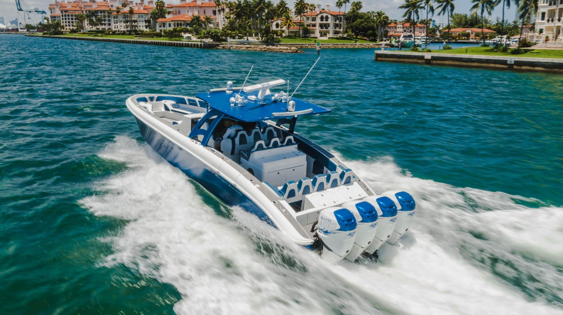 2017 Midnight Express 43' Open    Picture 4 of 20