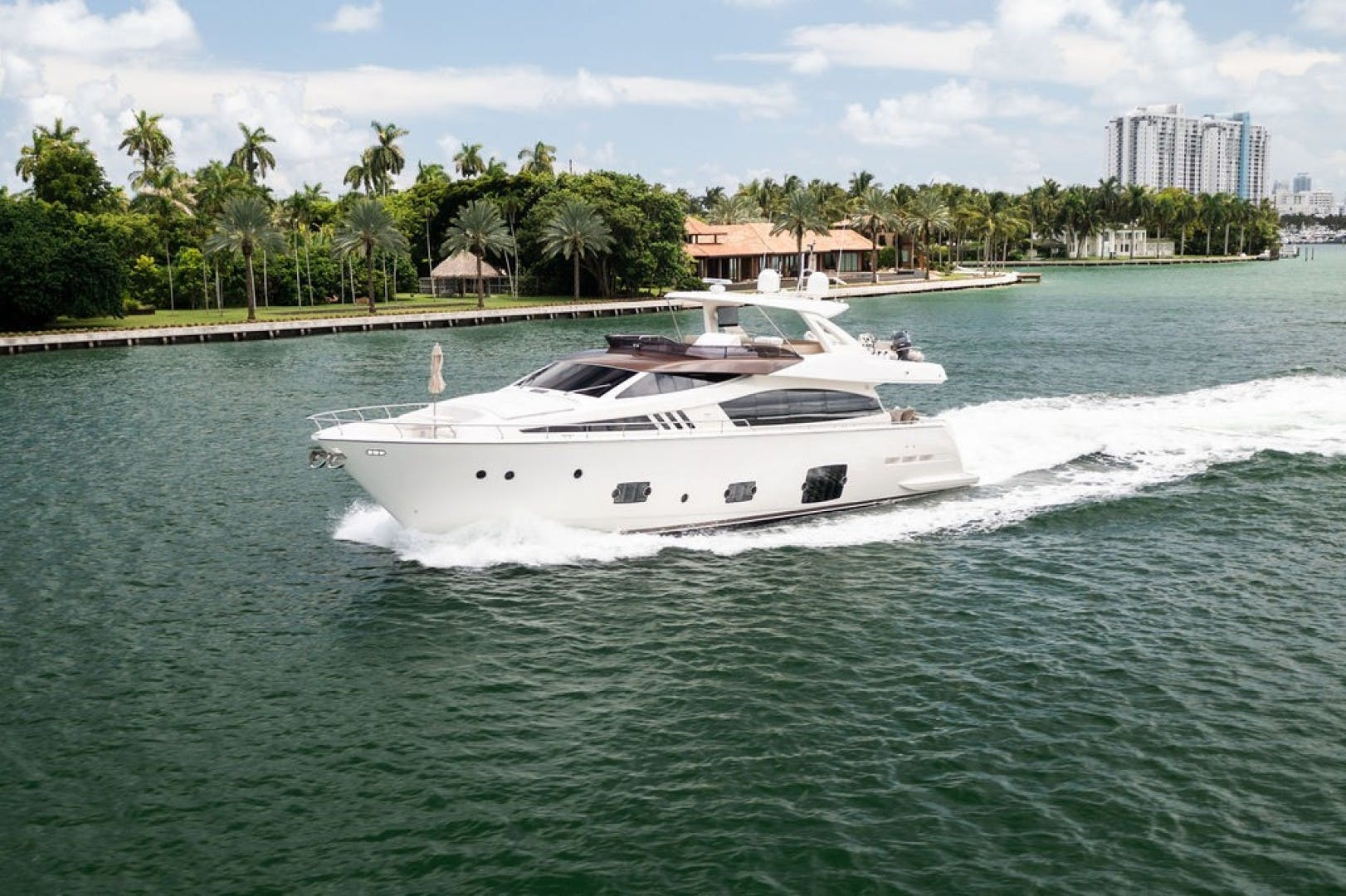 2014 Ferretti Yachts 80' F800 Living Life 3   Picture 1 of 82