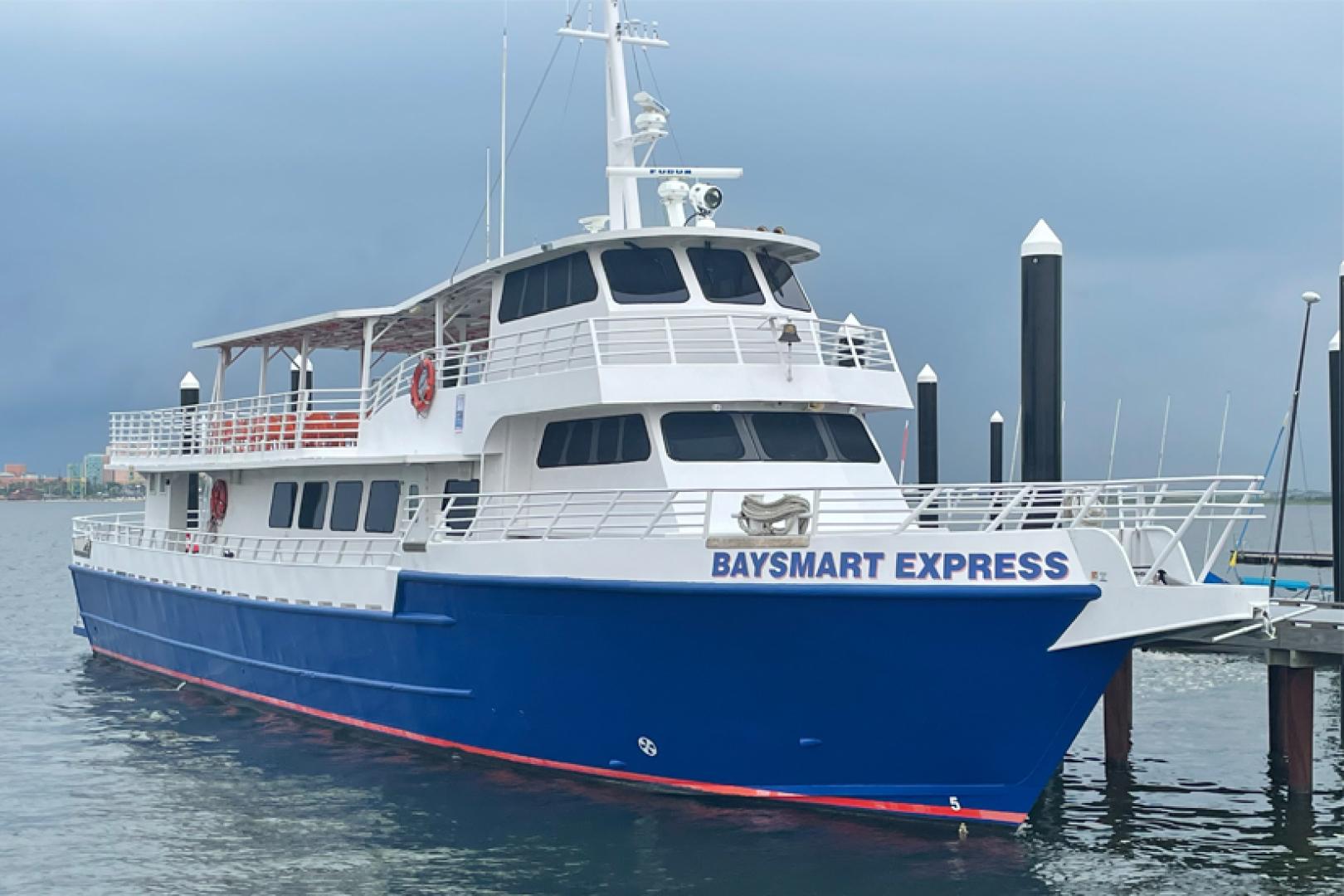 """1978 Swiftships 100' 100 Passenger Vessel """"Baysmart Express"""""""