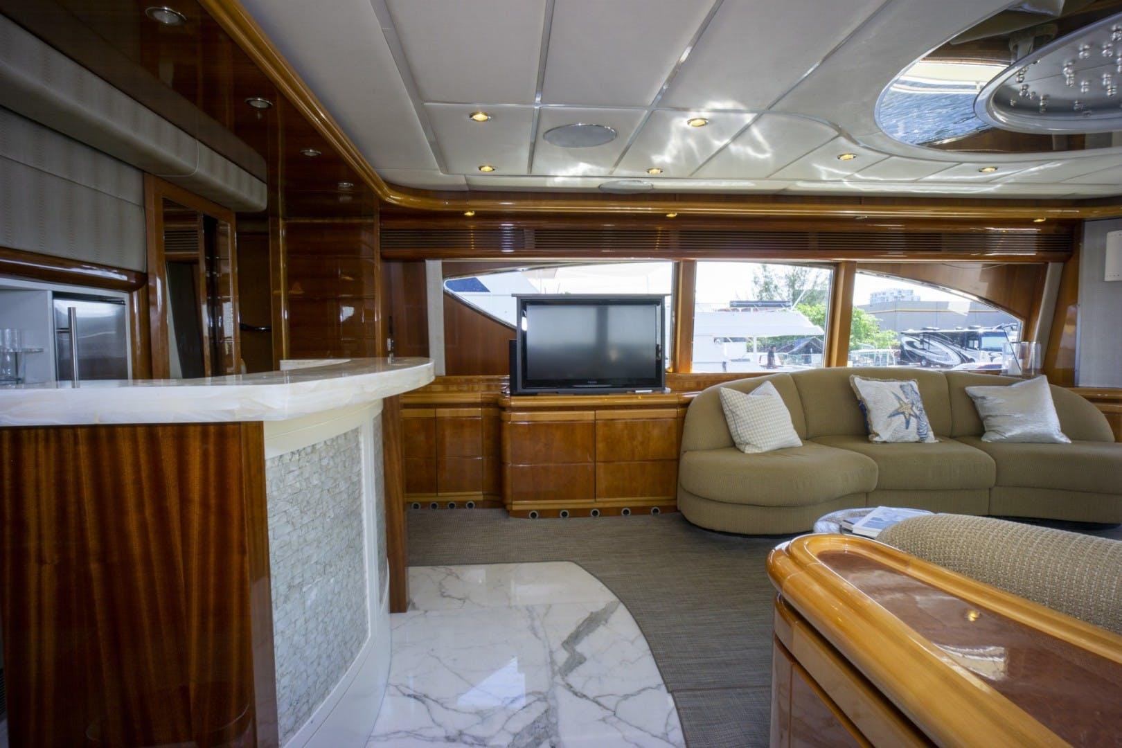 2000 Ferretti Yachts 94' Custom Line 94    Picture 7 of 68