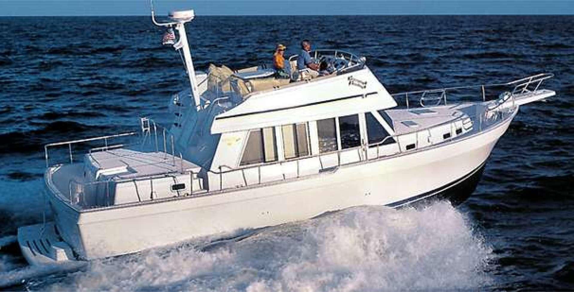 43' Mainship 2001 430 Trawler OLD SCHOOL