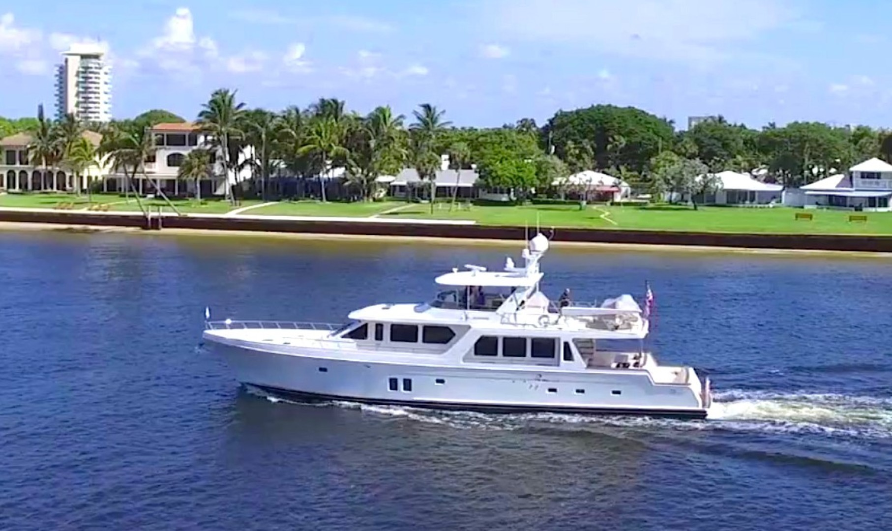 """2017 Offshore Yachts 80' Pilothouse """"Let It Bee"""""""