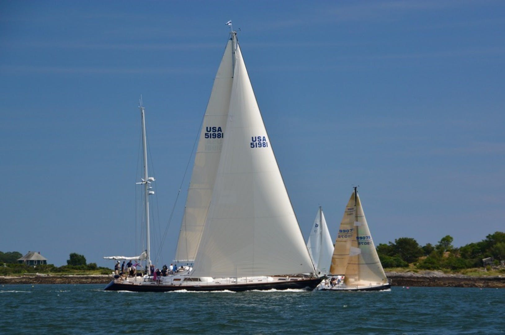 1985 Southern Ocean 85' Ketch Too Elusive   Picture 1 of 27