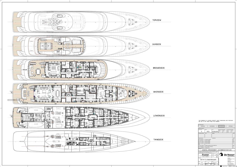 2012 Feadship 225' De Vries DRIZZLE   Picture 6 of 46
