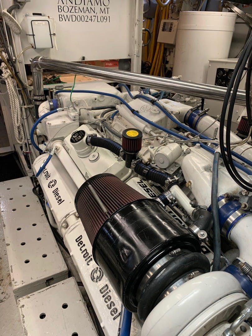 1991 Broward 102' Motoryacht ANDIAMO | Picture 1 of 47