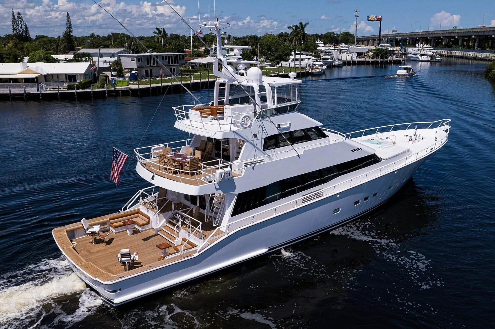 1990 Hakvoort 112' Yacht Fisherman Tempo Reale   Picture 2 of 68