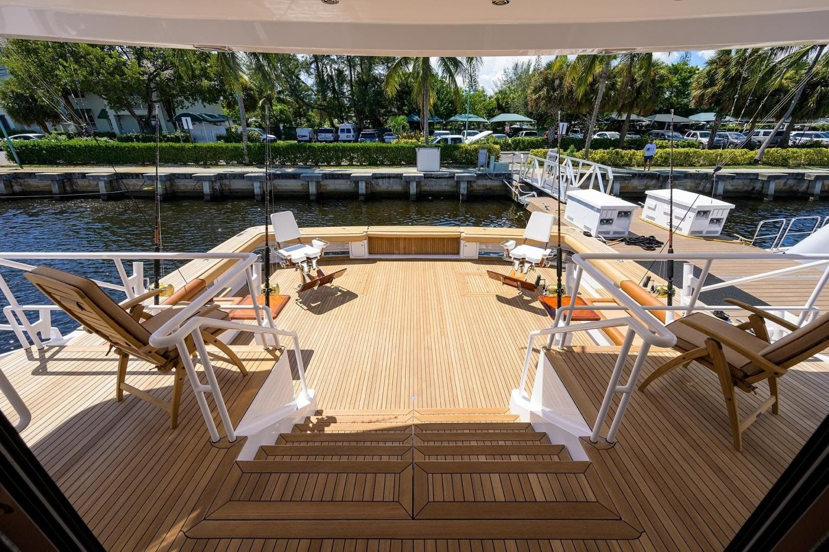 1990 Hakvoort 112' Yacht Fisherman Tempo Reale   Picture 6 of 68