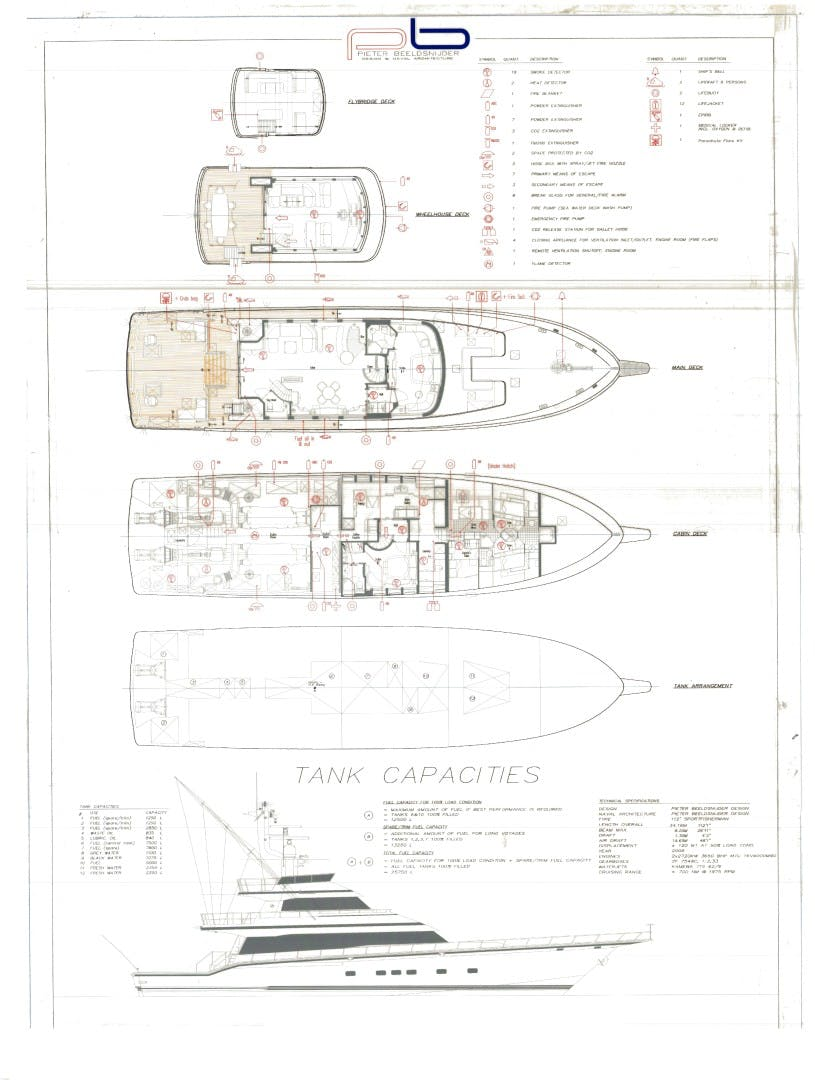 1990 Hakvoort 112' Yacht Fisherman Tempo Reale   Picture 4 of 68