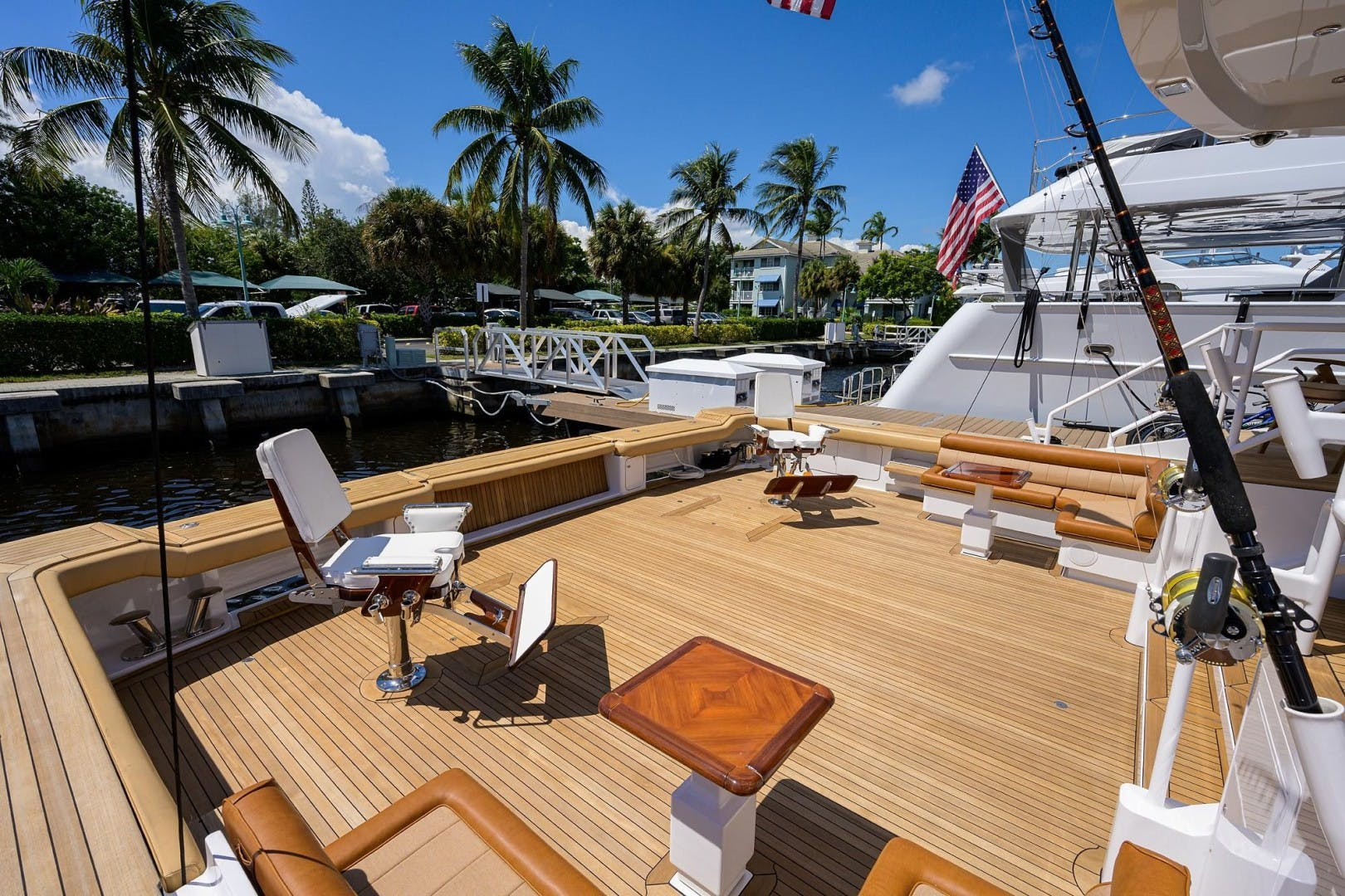 1990 Hakvoort 112' Yacht Fisherman Tempo Reale   Picture 5 of 68