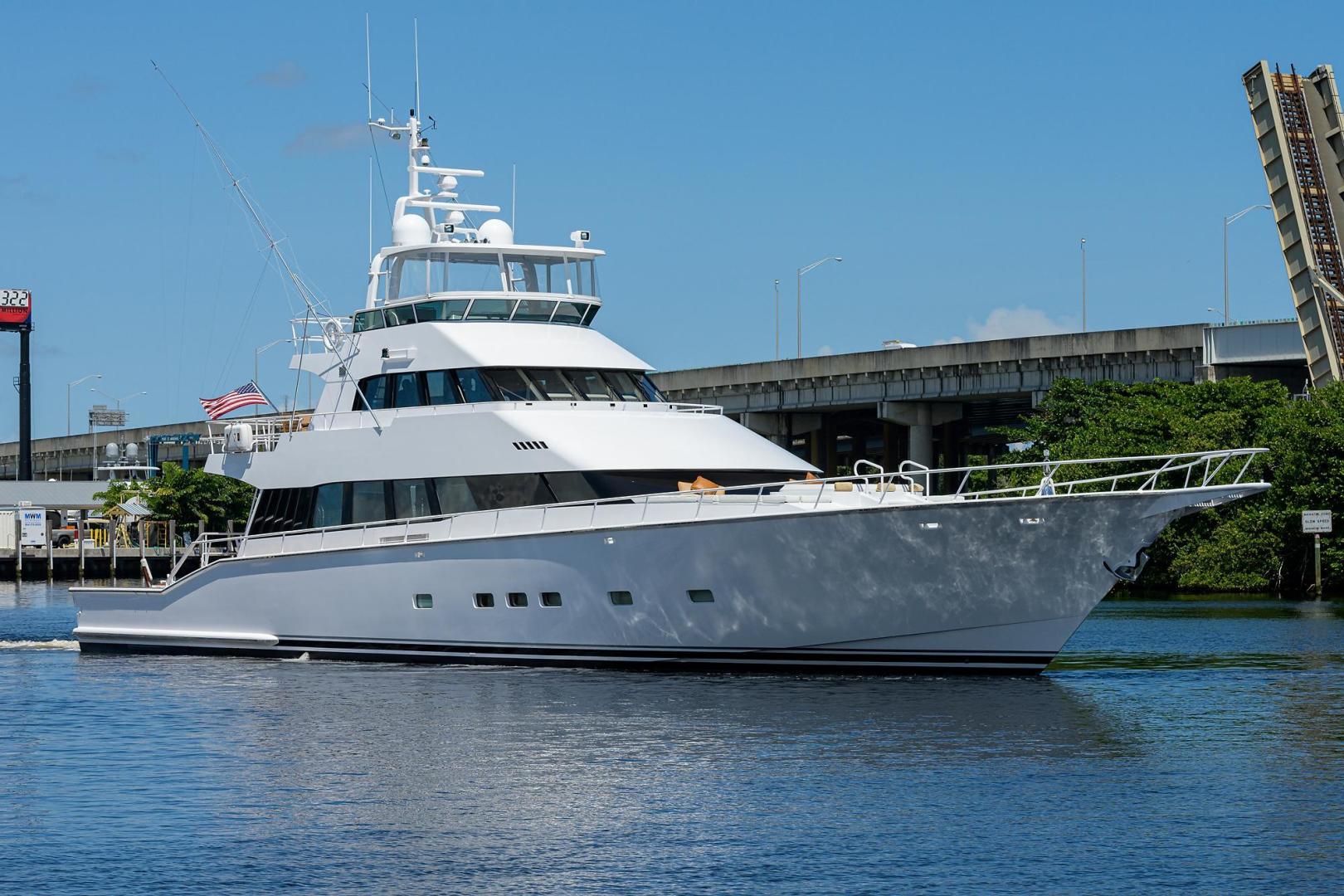 "1990 Hakvoort 112' Yacht Fisherman ""Tempo Reale"""