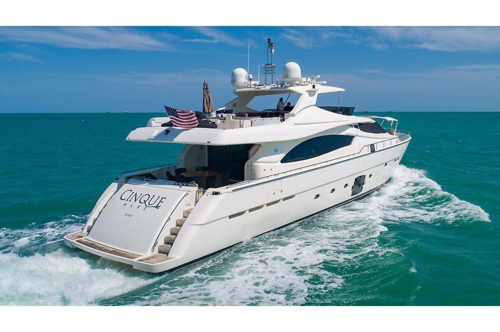 2006 Ferretti Yachts 88'  Cinque Mare | Picture 2 of 64