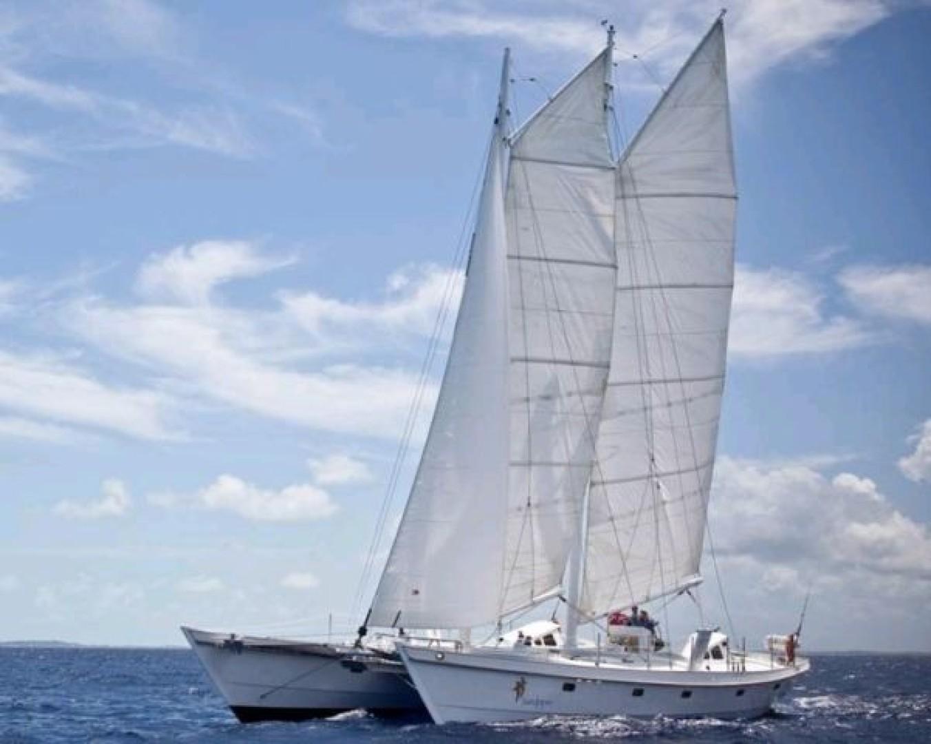 "2008 Constellation Yachts 64' Gaff Rigged Schooner 64 ""SANDPIPER I"""