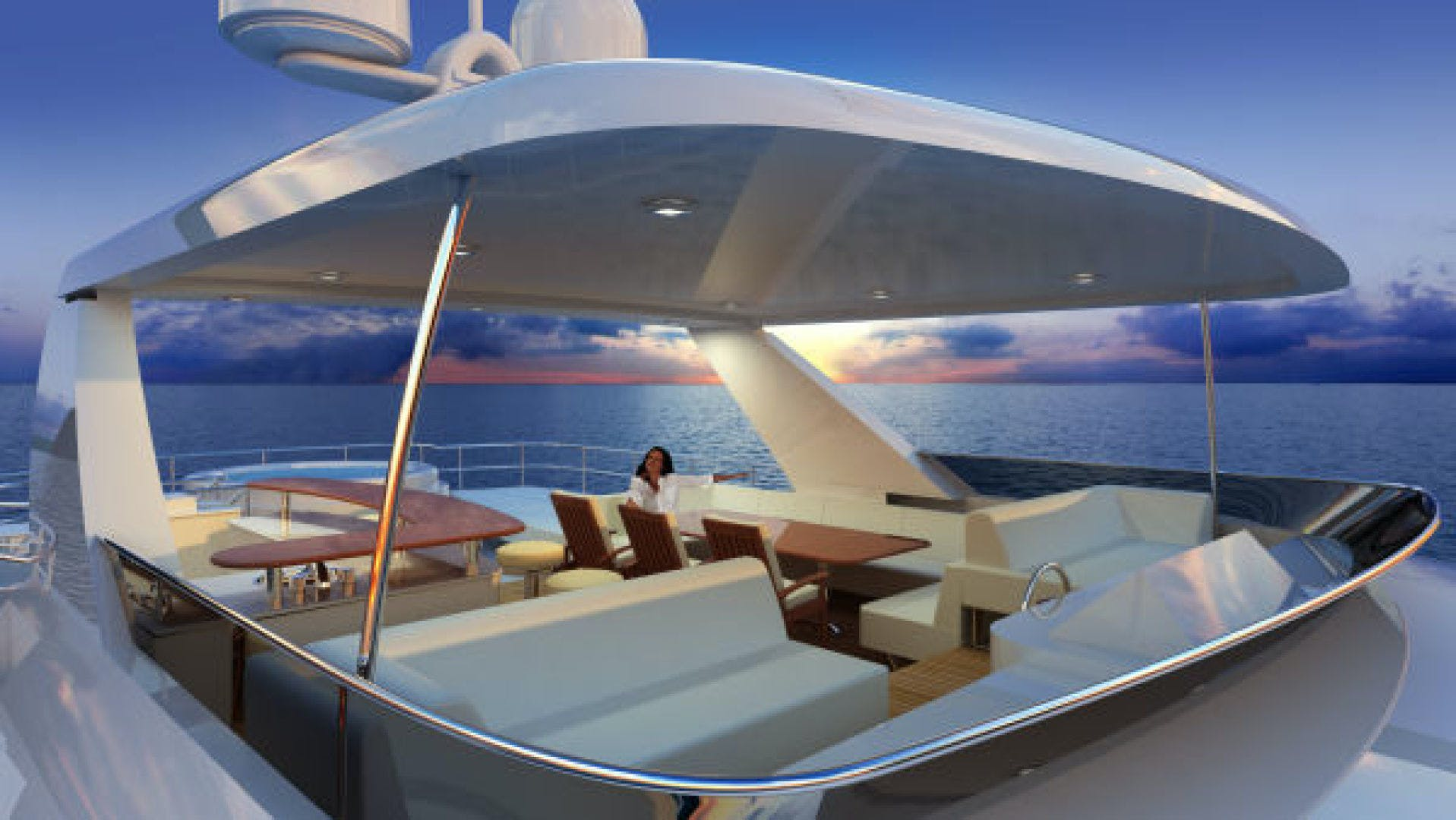 2020 Custom 90' Tri Deck Explorer Yacht  | Picture 8 of 23