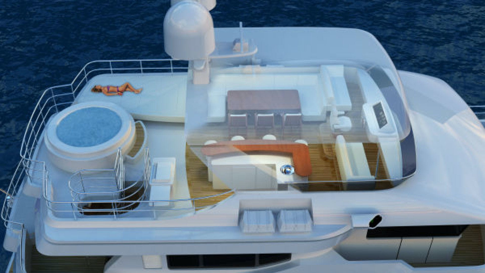 2020 Custom 90' Tri Deck Explorer Yacht  | Picture 6 of 23