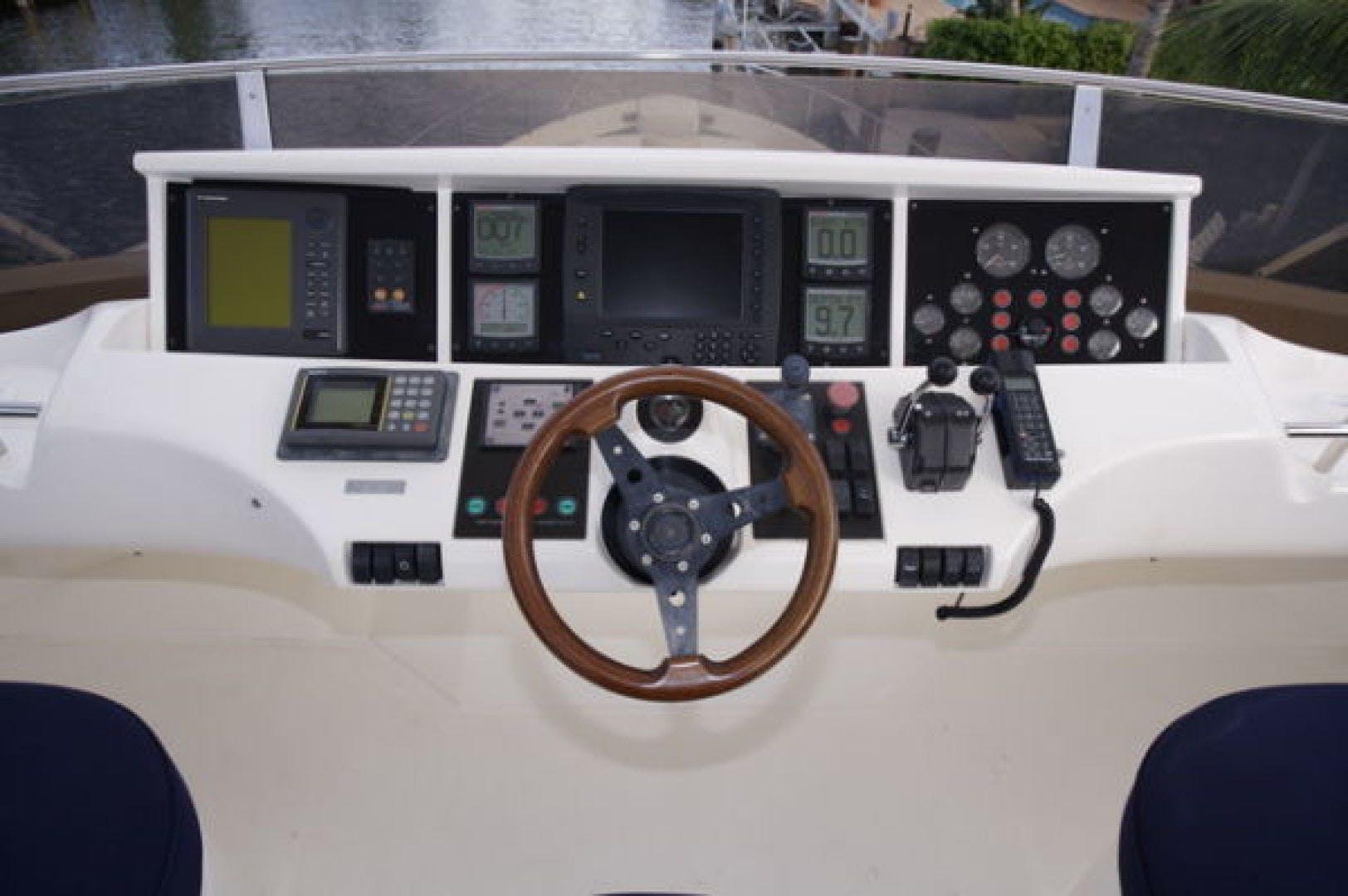 1999 Viking 72' Sport Cruiser LADY KARIMAN | Picture 8 of 18