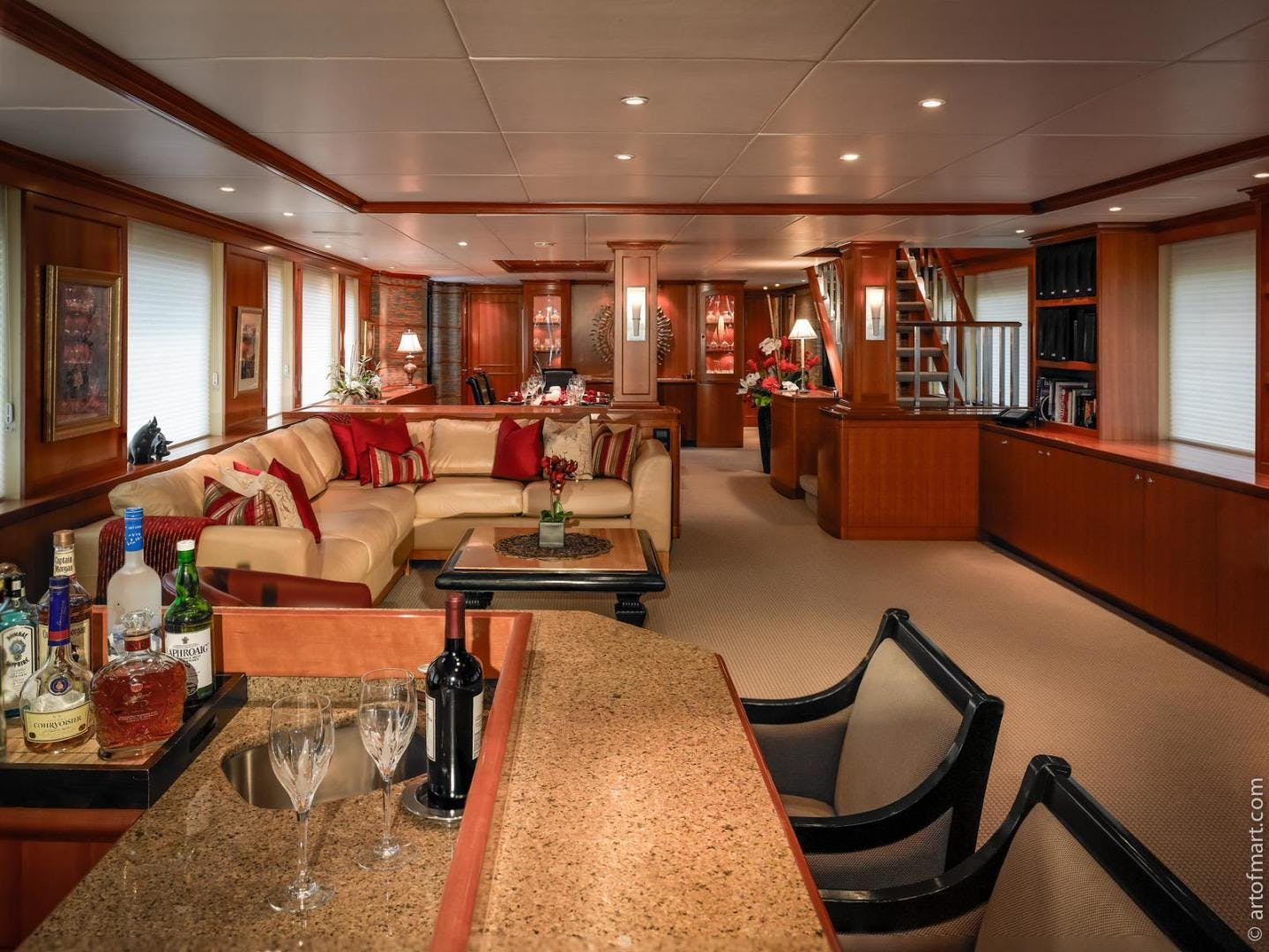 1998 Delta Marine 124' Tri-Deck MY MURPHY'S LAW   Picture 2 of 24
