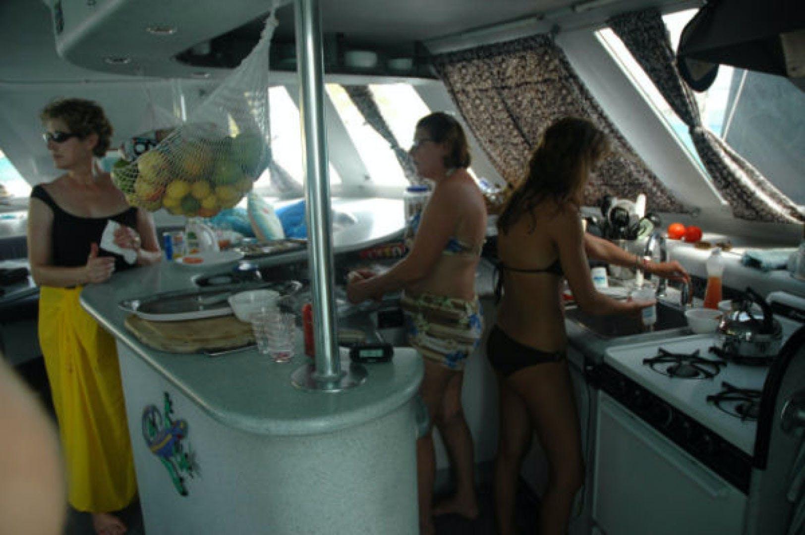 1999 Catamaran Custom Commercial Term Charter 60' Catamaran 60 No Name | Picture 8 of 16