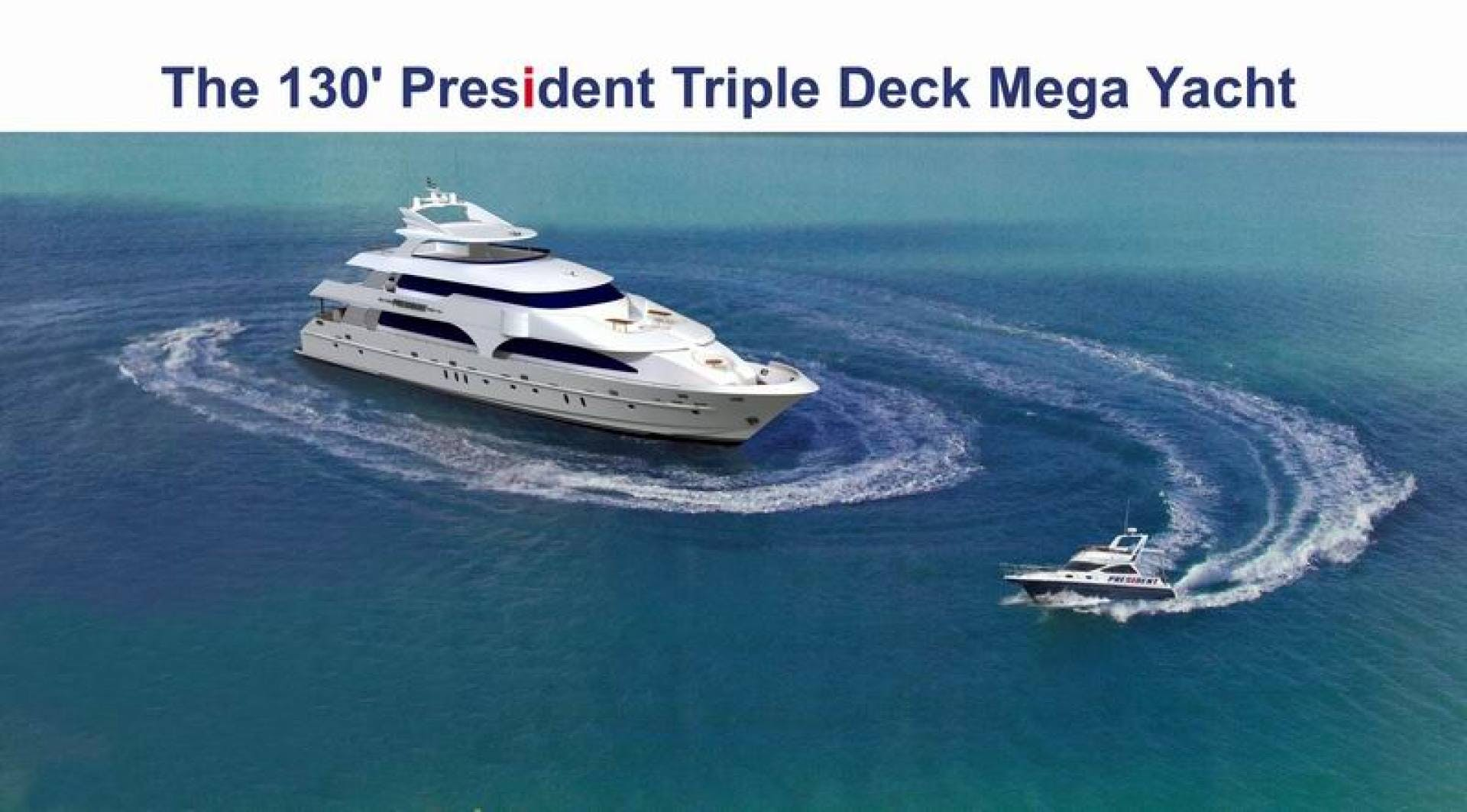 2017 President 130' Triple Deck No Name | Picture 5 of 5