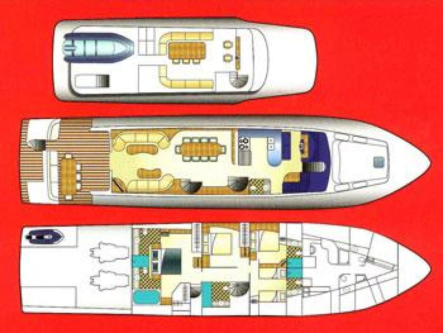 1999 Cheoy Lee 92' Motor Yacht YOLY | Picture 2 of 34