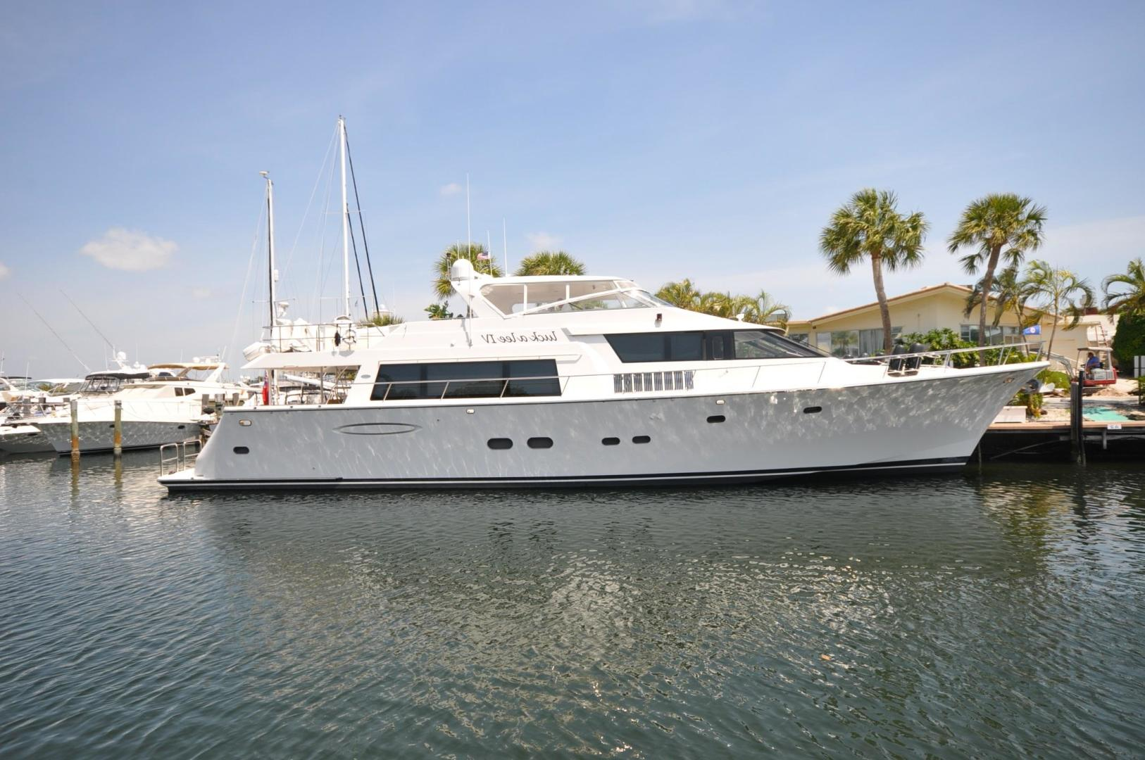 85' Pacific Mariner 2007 Flushdeck MY LUCK A LEE IV
