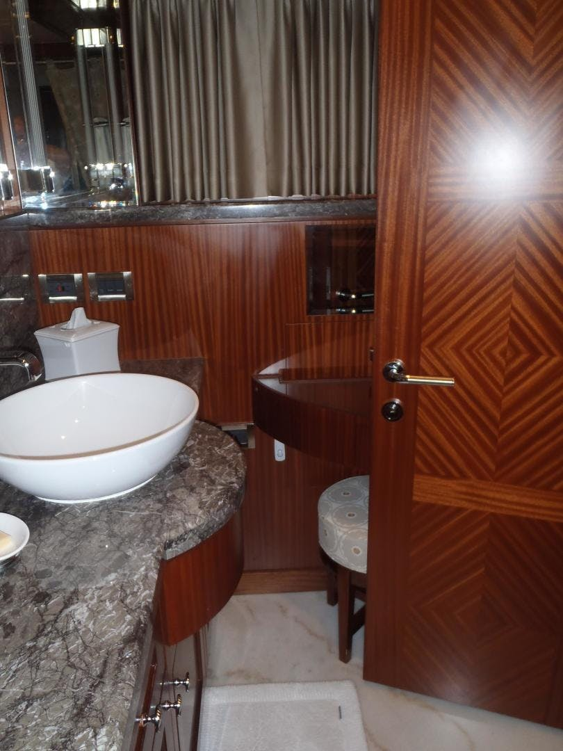 2013 Ocean Alexander 90' Sky Lounge Risky Business | Picture 6 of 65
