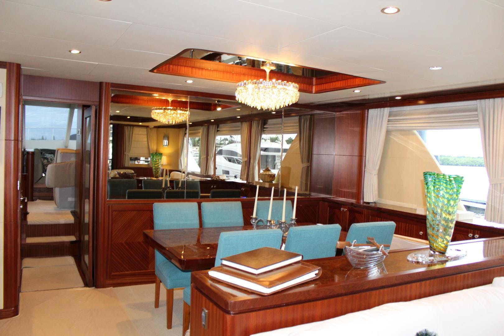 2013 Ocean Alexander 90' Sky Lounge Risky Business | Picture 5 of 65