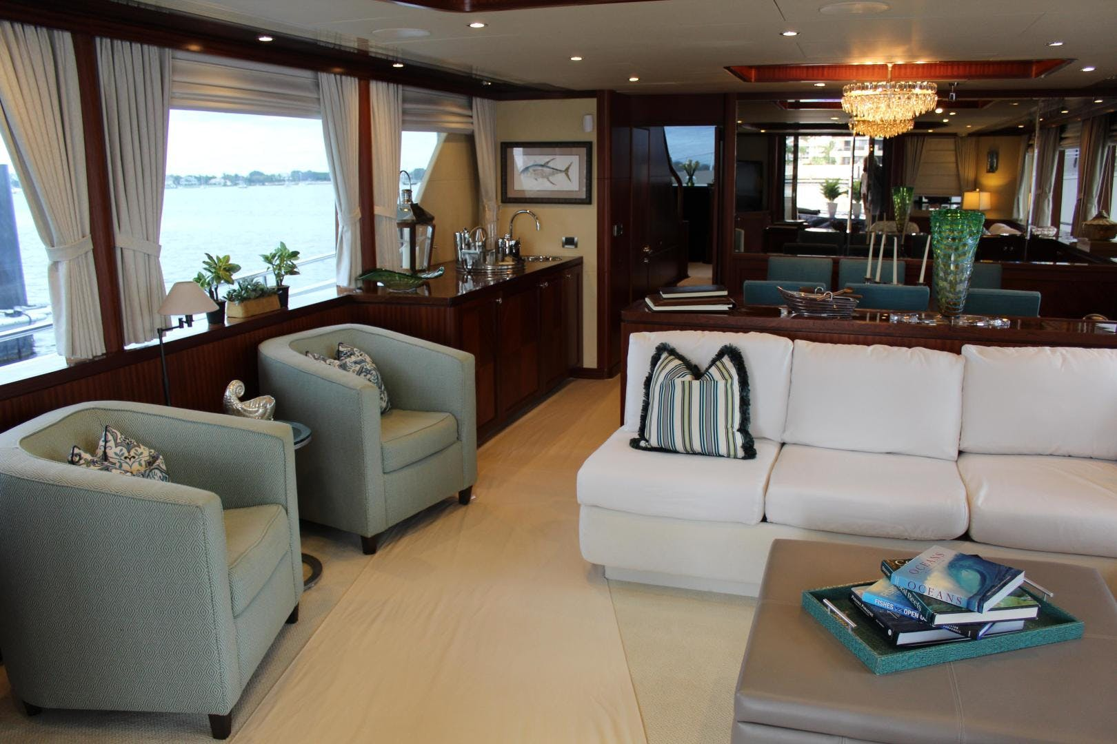 2013 Ocean Alexander 90' Sky Lounge Risky Business | Picture 2 of 65