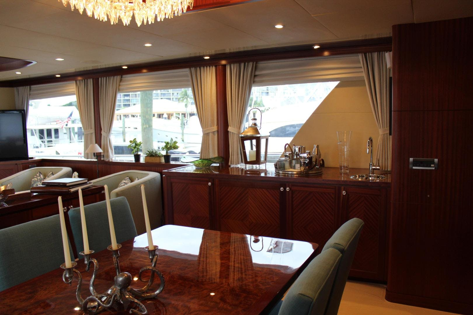 2013 Ocean Alexander 90' Sky Lounge Risky Business | Picture 1 of 65