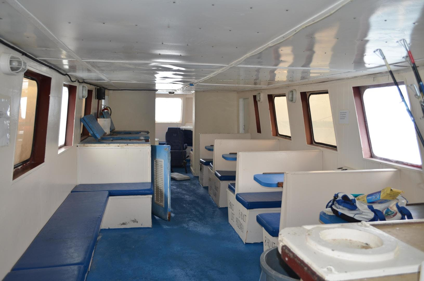 1986 Drift Fishing Vessel 90 Person 70' Commercial Atlantis | Picture 1 of 82
