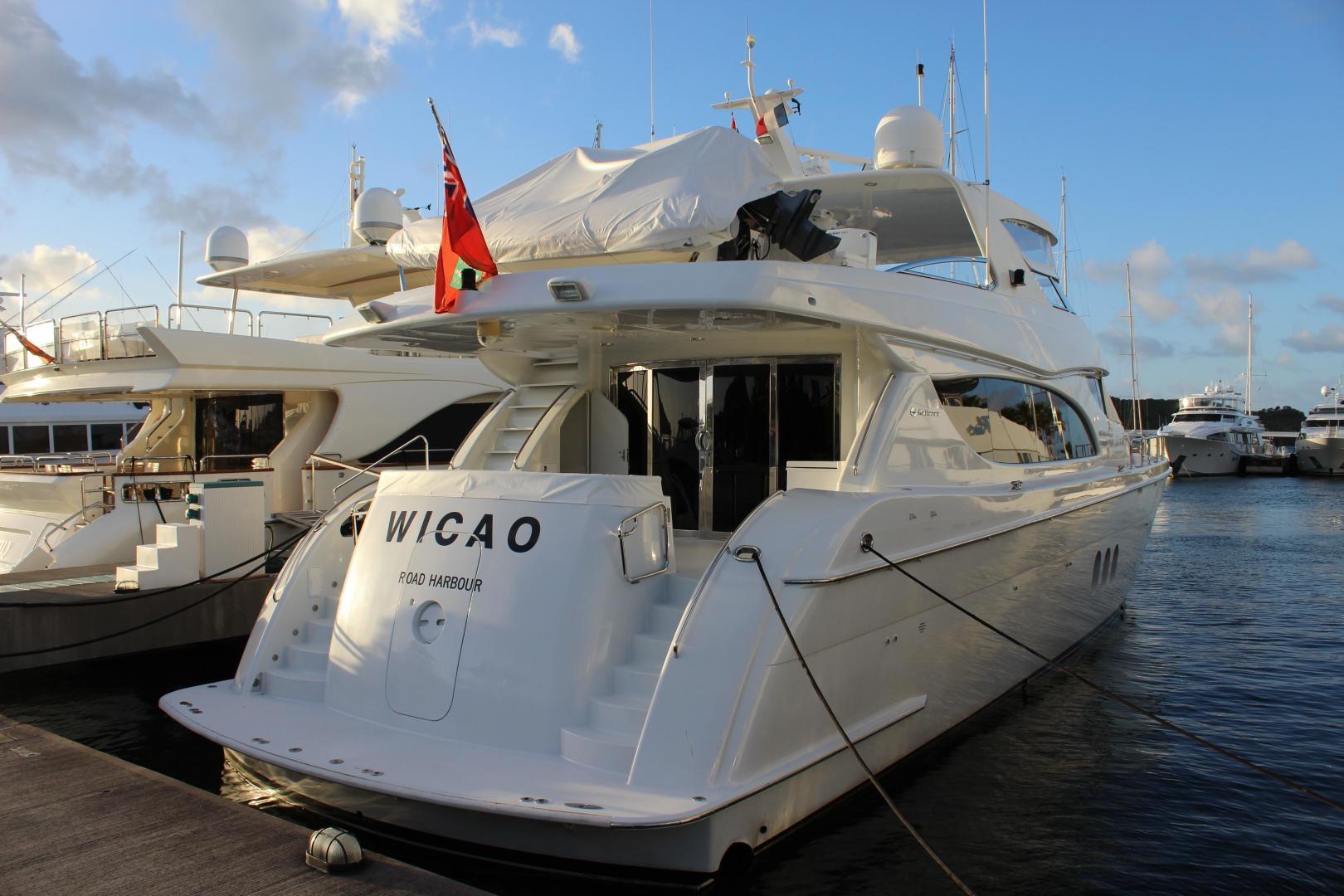 2004 Hatteras 80' 80 Motor Yacht