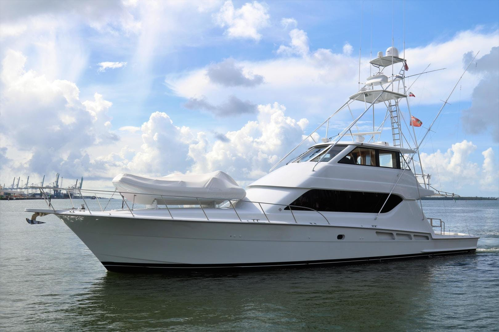 2000 Hatteras 70' 70 Convertible  | Picture 1 of 57